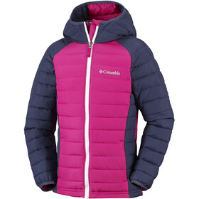 Columbia Powder Lite Hooded Jacket Mädchen cactus pink/nocturnal